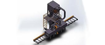 江苏抛丸机铸造除锈设备