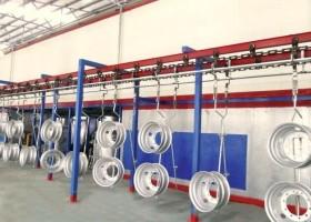 抛丸机厂家对汽车轮毂抛丸机的简介