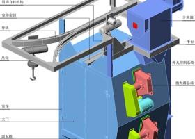 上海抛丸清理机:吊钩式抛丸清理机的优点、用途