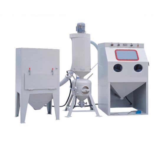 江苏抛丸机生产厂家自动输送式喷砂机的优势