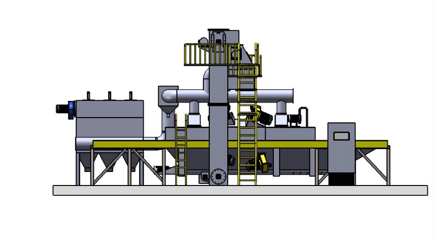 铝模板抛丸机 1