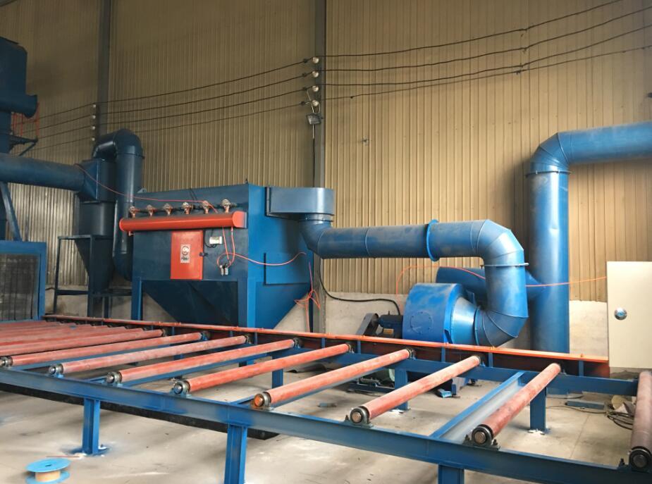 抛丸机中的双级涡旋除尘器的工作原理是什么?